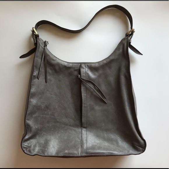 44c158d6190 HOBO Bags | Beautiful International Gray Leather Purse | Poshmark